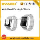 Wholesale China Watch Of Smart Band For Apple Watch Gold Housing,For Apple Steel Band For Iwatch Case