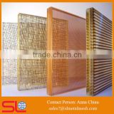 Partition Wall Decoration Laminated Glass Metal Mesh Screen Mesh