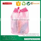durable clear drawstring body wash pvc bag wholesale