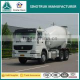 Top Brand Good Quality Howo 336HP Diesel Cement Mixer