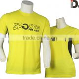Shirt printing/ round neck t-shirt with printing/promotional 160gsm t-shirt with printing