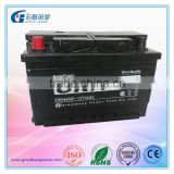 DIN automotive battery 12v 66ah din66mf car battery for european car automobiles