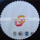 Hotel water absorbent paper cup coaster
