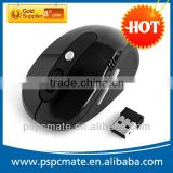 PS-M0095 Best selling Wireless Arc folding Optical mouse mice with black gifts box for windows vista Mac Promotion!!!