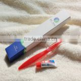 Hot sale cheap disposable hotel toothbrush with 3g toothpaste                                                                         Quality Choice
