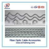 ADSS Cable Fittings Overhead Optic Fiber Cable Installation Spiral Vibration Damper