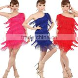2016 High Quality Sexy Brand New Dance Dresses One Should Girls Ballroom Competition Skirt Latin Dress