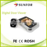 "3.5"" Long Standby Time Video Door Eye Hole Viewer Camera"