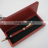 High Quality Office Stationery Business Signature Ink Pen, Wood Pen