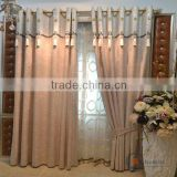 China jacquard curtain fabric portable curtain stand