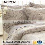 veken products VK-B0079 40s*40s 250TC printed bamboo bedding set