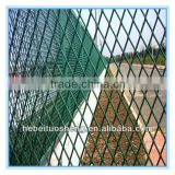 PVC coated expended metal grating fence