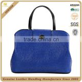 S151-B2481 2016 Hot selling Wholesale Fashion ostrich grain bag Genuine Leather Handbag ladies