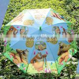 excellent standard Boonie Bears screen boy straight umbrella