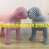 Display dog fabric dog wholesalers display dog mannequins dog mnnequin