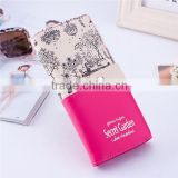 Candy colors women wallet girls PU leather purse ladies clutch bags                                                                                                         Supplier's Choice