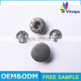 Fashion wholesale Quality Metal 18mm custom printed snap buttons