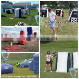Archery Tag Inflatable Millennium field paintball bunker                                                                         Quality Choice