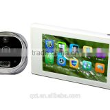 4.7 inch display photo Shooting video Record Night Vision Anti damage door viewer peephole doorbell camera