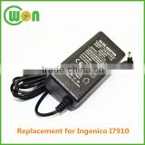 I7910 adaptor power supply 18V 1A AC/DC adapter CW-ING7910 adaptor for Inenico I7910 high quality made in China