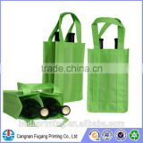 Recycle 2/4/6 holder wine tote bag for promotion