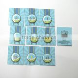 Custom made 25mm tin badge with safety pin with back card , button badge pack