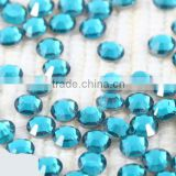 A+ Schwan Non hot-fix crystal beads color blue zircon