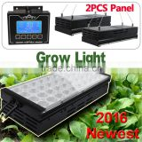 2015 newest auto dimmable high power led grow full spectrum programmable with 2 lights daisy-chain