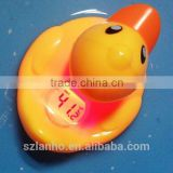 2016 New hot sale funny digital Duck Thermometer/toy for Baby Bath