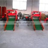 Full automatic rice straw compress baler and packing machine
