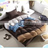 Factory Wholesale cheap White 100 Cotton disposable Quilt Cover And Flat Bed Sheet For Hotel