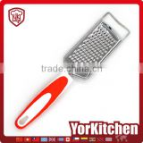 Fashionable TPR handle Factory price vegetable zester cassava grater