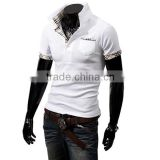 Hot sell Newest Men's Polo T Shirt, Cotton Polo Shirt, Blank Design Plain Short Sleeve Polo Shirt Wholesale