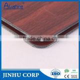 Aluminium Plastic composite Panel, Wooden color /marbling granit aluminum composite panel