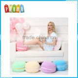 Creative Macaron Plush Foot Warmer Winter Feet Warmer Slippers Cushion Pillow for Office Decoration Home
