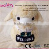 New design lovely and fashion customize cheap gifts and kids gift wholesale plush pillows sheep