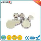 lithium button battery 3v cr2032 with cable and connector