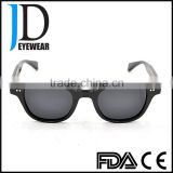 fashion model classical natural buffalo horn sunglasses with blinds