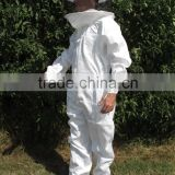 Bee Proof Protection Clothing Suit, Honey-Bee Protection Suit With Round Veil