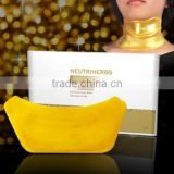 OEM Private lable beset selling Natural Herba Vitamin C Skin Care Whitening Anti-wrinkles Lifting gold Neck Mask