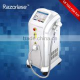 Portable Style And No Q-Switch Q Switch Laser Tattoo Removal Diode Laser Hair Removal Machine 1500mj