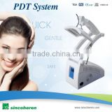Improve fine lines PDT / LED Facing Skin Care Equipment Eliminate Fine Red Light Therapy Devices Winkles Enhance Stretch Facial Skin 7 Color Photon Led Skin Rejuvenation