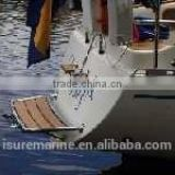840X380 FOR SAILBOAT MARINE BOAT TEAK SWIM PLATFORMS For ladder