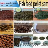 floating fish feed pellet machine/extrusion machine