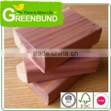 Natural Cedar Shaped Block Wood Ring Repellent Anti Moth