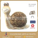 13 Inch Snail Fiberglass Animals Statues For Sale