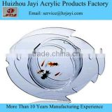Acrylic material tank and vase clear glass fish shaped bowl