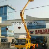 DF Mini aerial work truck with Crane 14mt (LHD)