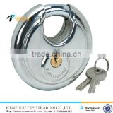 Hardened steel shackle , stainless steel round lock heavy duty