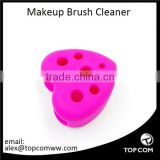 Silicone Gel Makeup Washing Brush Cleaner Egg Scrubber Tool